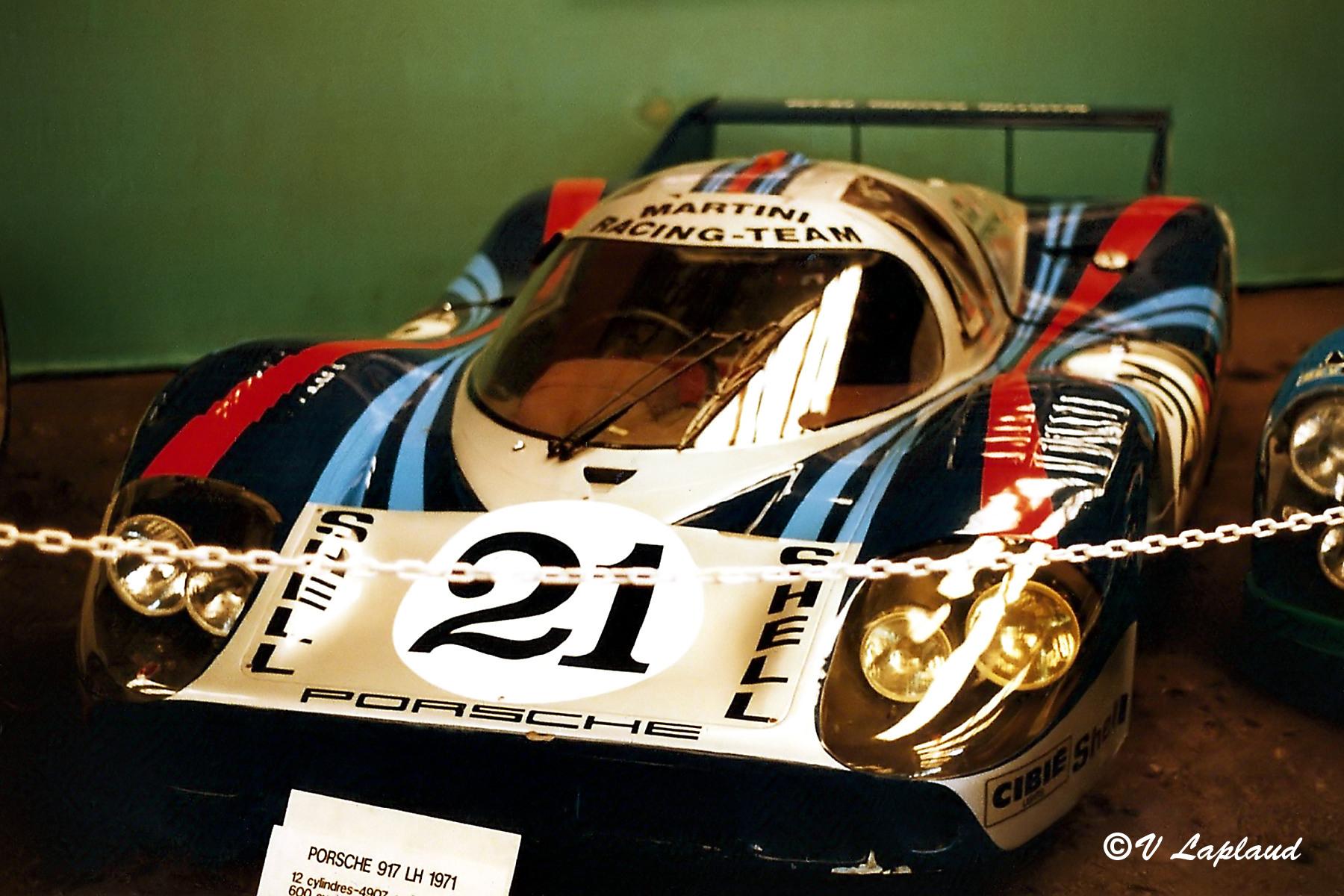 Porsche 917-045 Le Mans 1971 Musee du Mans 1989.