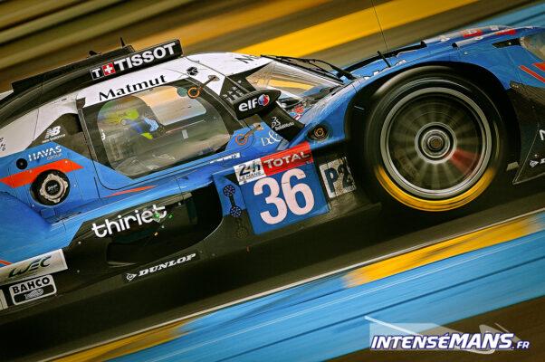 Parade Alpine en lever de rideau des 24 Heures du Mans