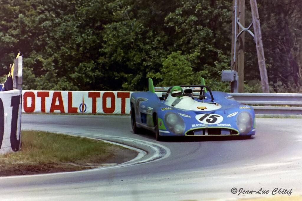 Matra MS 670-01 Le Mans 1972 Henri Pescarolo