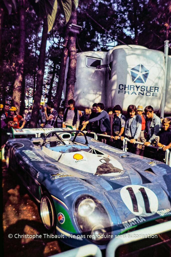 Matra MS 670-01, 24 Heures du Mans 1974.