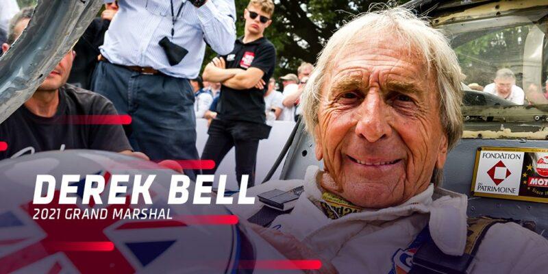 Derek Bell, Grand Marshal des 24 Heures du Mans 2021