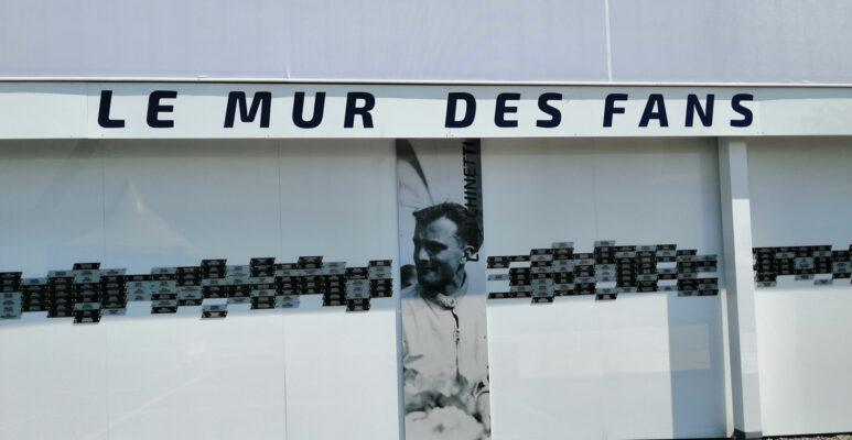 24 Heures du Mans: Le mur des 'FANS'