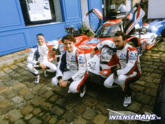 L'Oreca 07 du Sarthe Objectif 24 dans les rues du Mans